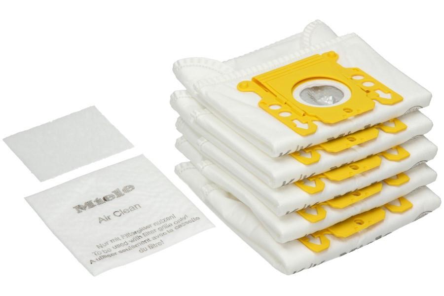 5 Sacchetti Per Aspirapolvere MIELE Typ//Type//Series K//K//KK HyClean 5588951 9359880//10123260