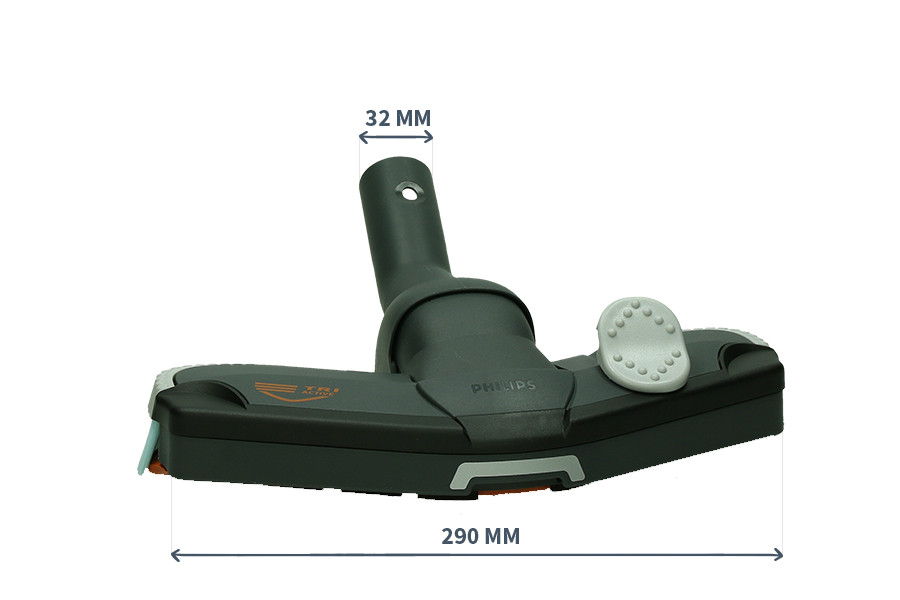 /ø32mm ✧WESSPER/® Spazzola per aspirapolveri per Philips TCX 535