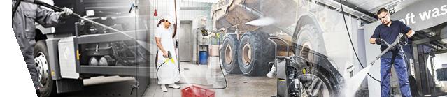 Ricambi e accessori per idropulitrici professionali